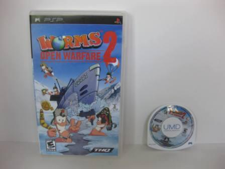 Worms: Open Warfare 2 - PSP Game